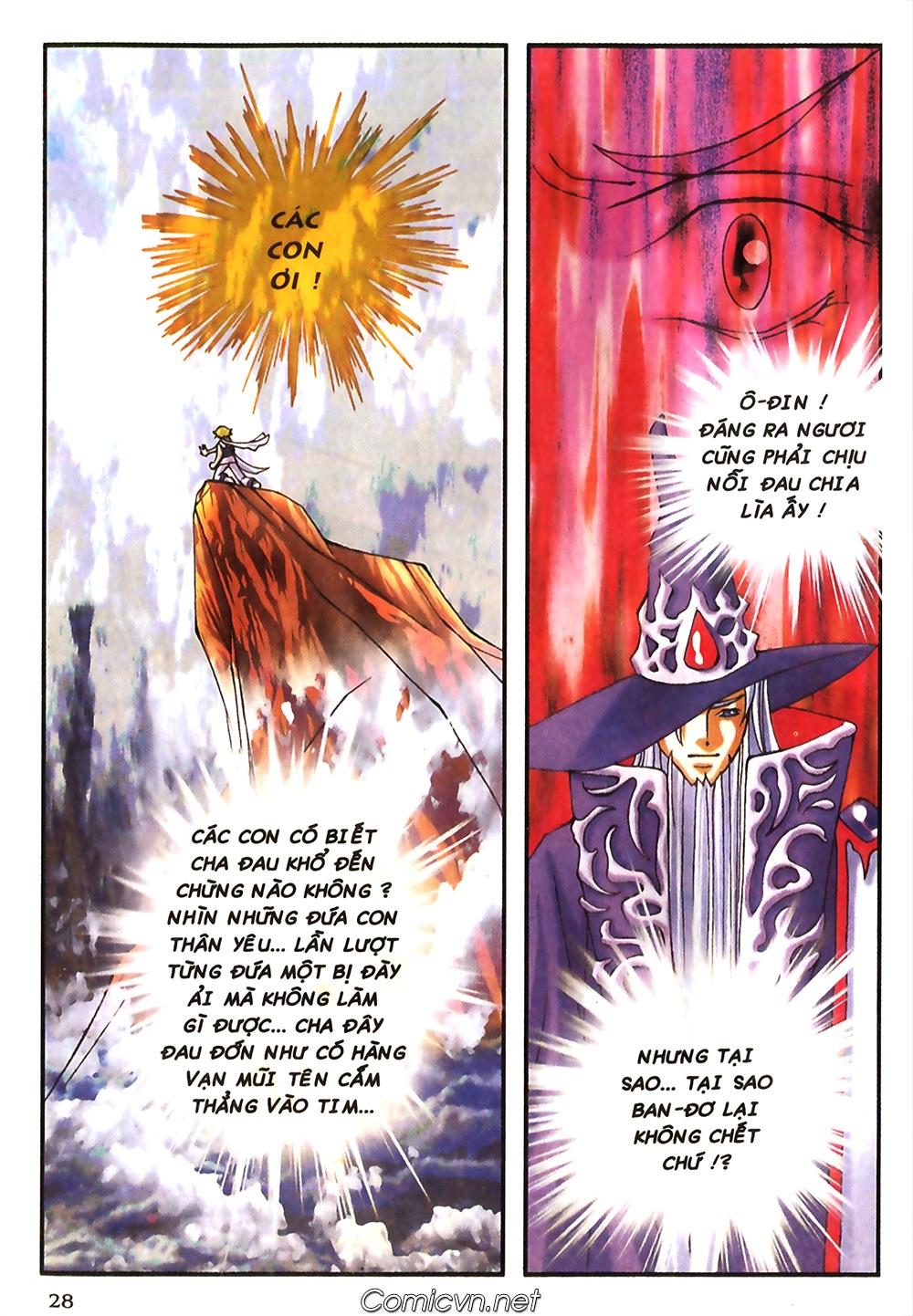 Thần thoại Bắc Âu - Chapter 43: Tình mẫu tử - Pic 29