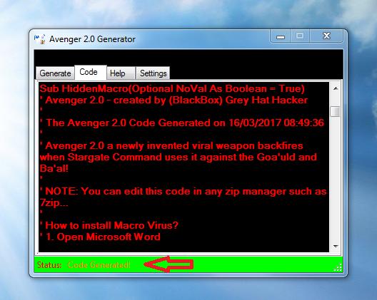 Hackers Blog!: Avenger 2 0 AKA VirusConstructor Avenger 1 - (New