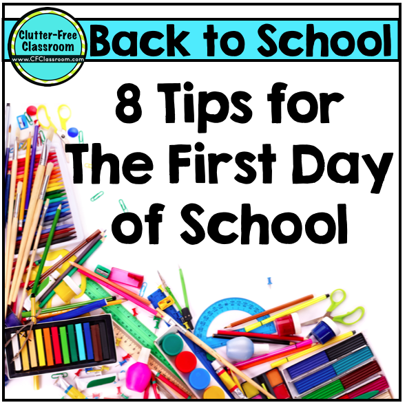 My Tried And True First Day Of School Plans {3 Tips For