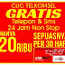 SMS Pemberitahuan Dari 2323 CUG Corporate Telkomsel