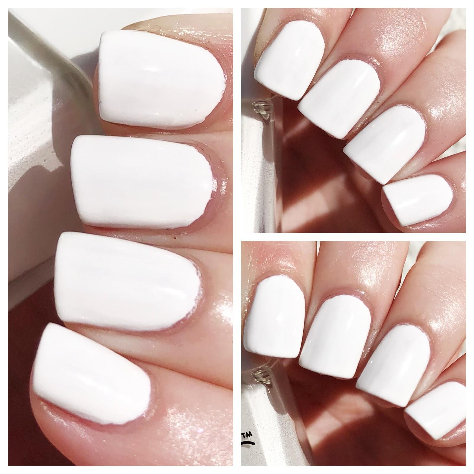 Notd Nails Inc White Out Nail Polish