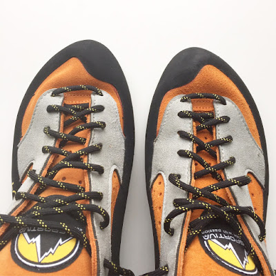 La Sportiva Jeckyl climbing shoe - all the gear no idea!