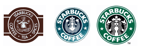 The Mermaid Covers Up A Bit So Shes No Longer Bare Chested Good Decision Also Starbucks Refocused Logo Onto Mermaids Face And