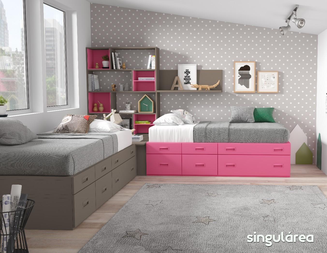 Blog dormitorios juveniles com novedades camas infantiles for Camas infantiles juveniles