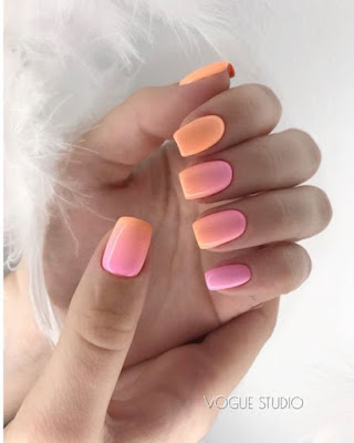 Try and paint these ombre nails designs  24+ Amazing Ombre Nails Ideas Tutorial to Copy This Season