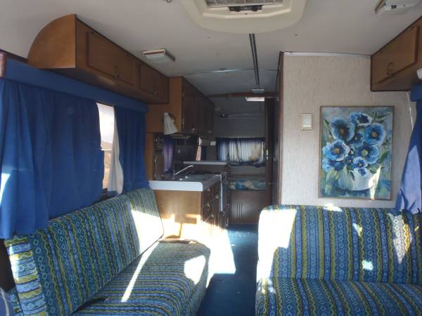 rvs vintage motorhome  travco   sale  owner