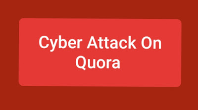 Cyber ​​attack on Quora