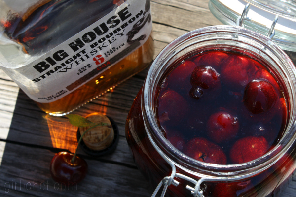 """Big House"" Cherry Bourbon Sour 