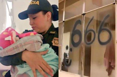 Bayi Ini Ditelantarkan Orang Tua, Ternyata Ibunya Lakukan Kegiatan Terlarang Bersama Setan