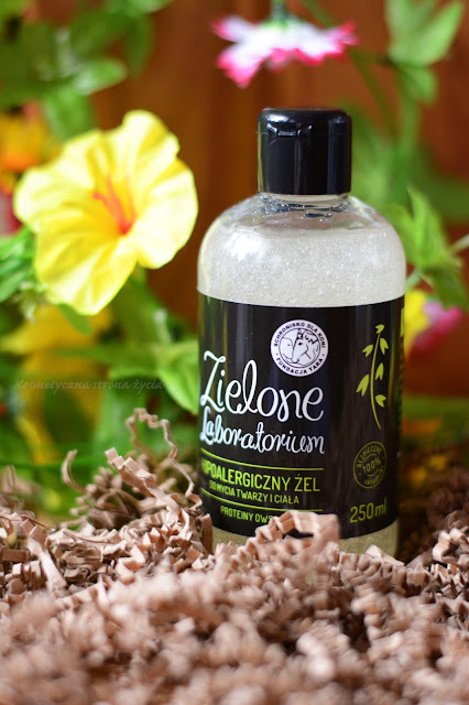 Zielone Laboratorium żel do mycia twarzy i ciała