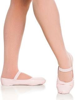 sapatilha meia ponta lona sapato de dança