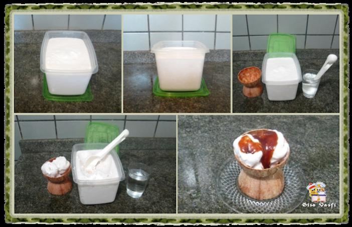 Sorvete de coco quase verde 6
