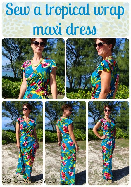 The Vintage Pattern Files: 1970s Free Sewing Pattern - 1970s Style Maxi Dress