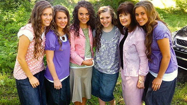 Grandma Duggar and the Duggar Girls