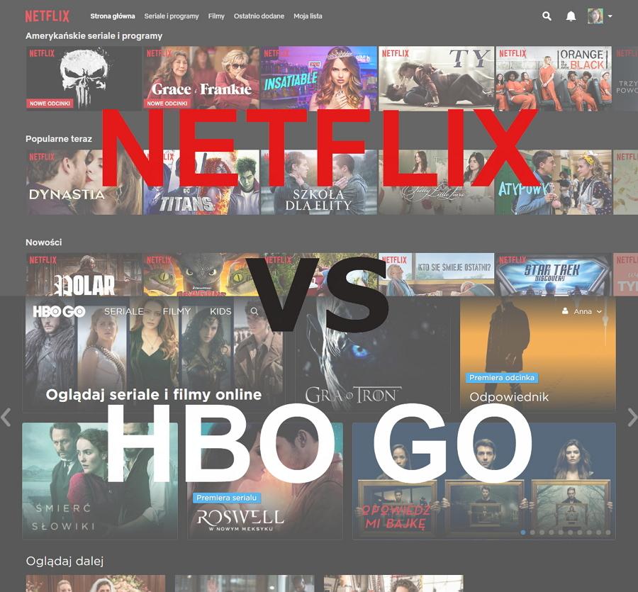 Netflix vs HBO GO || Co lepsze?