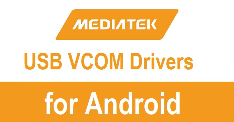 MediaTek USB VCOM Drivers