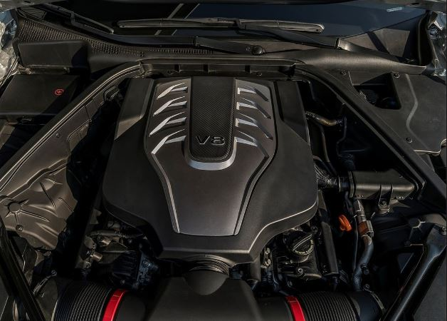 2018 Genesis G80 Engine