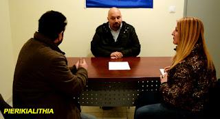 Συνέντευξη του βουλευτή Χρυσής Αυγής Ηλία Παναγιώταρου. (ΒΙΝΤΕΟ)