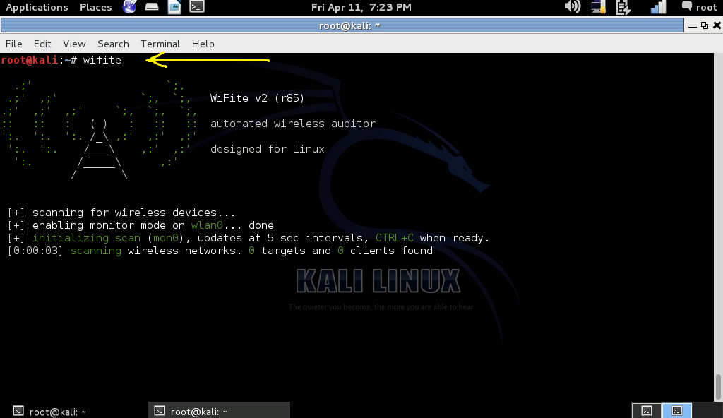 kali linux wpa2 crack without word list txt
