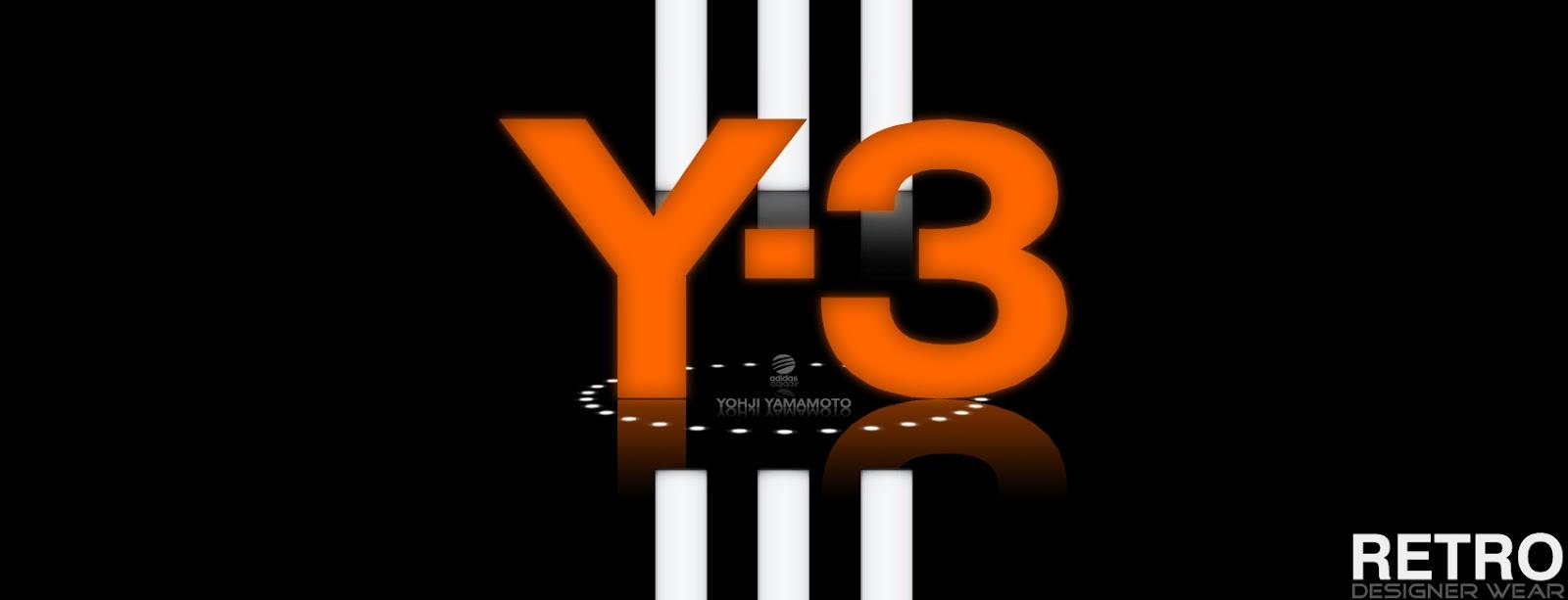 delincuencia Saludo por ciento  Retro Designer Wear: Y-3 Brand by Adidas and Yohji Yamamoto