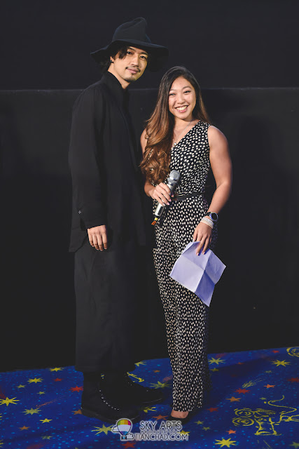 Takumi Saitoh  斎藤工 and Linora Low at Japanese Film Festival 2017 GSC Pavilion KL