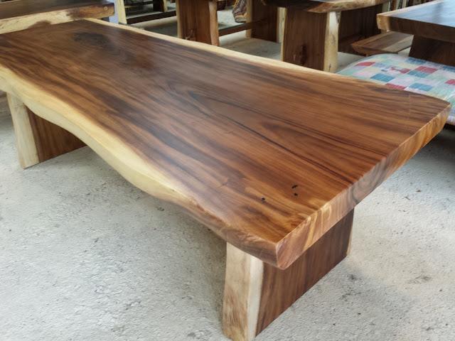 daun meja kayu suar