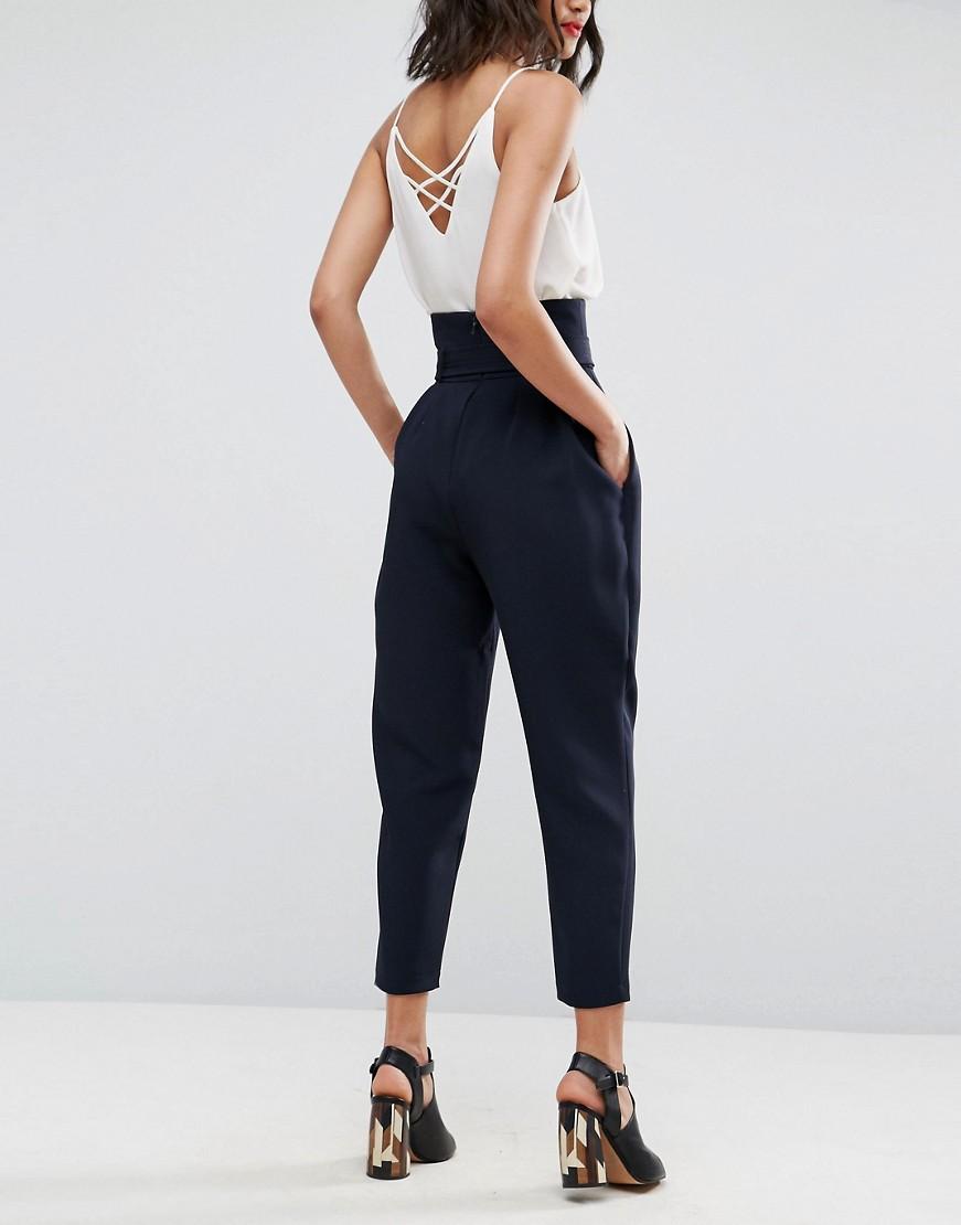 pantalone-vita-alta-cintura-fiocco