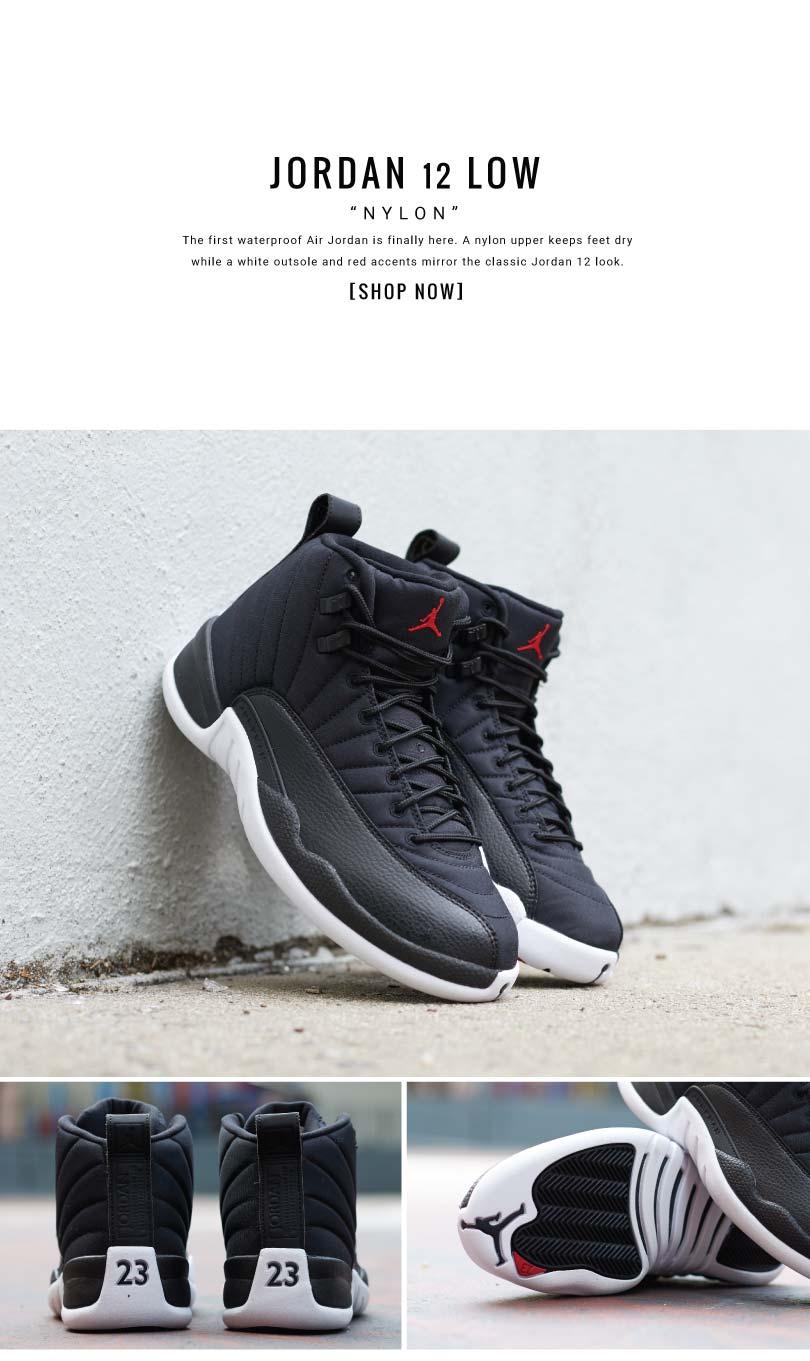 "separation shoes e1625 c992a KIX & LIDZ: Jordan Retro 12 ""Nylon"""