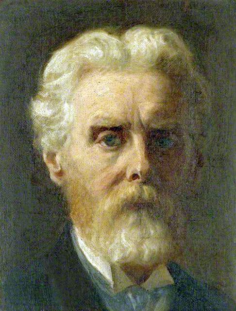 James Archerm, Self Portrait, Portraits of Painters, Fine arts, Portraits of painters blog, Paintings of James Archerm, Painter James Archerm