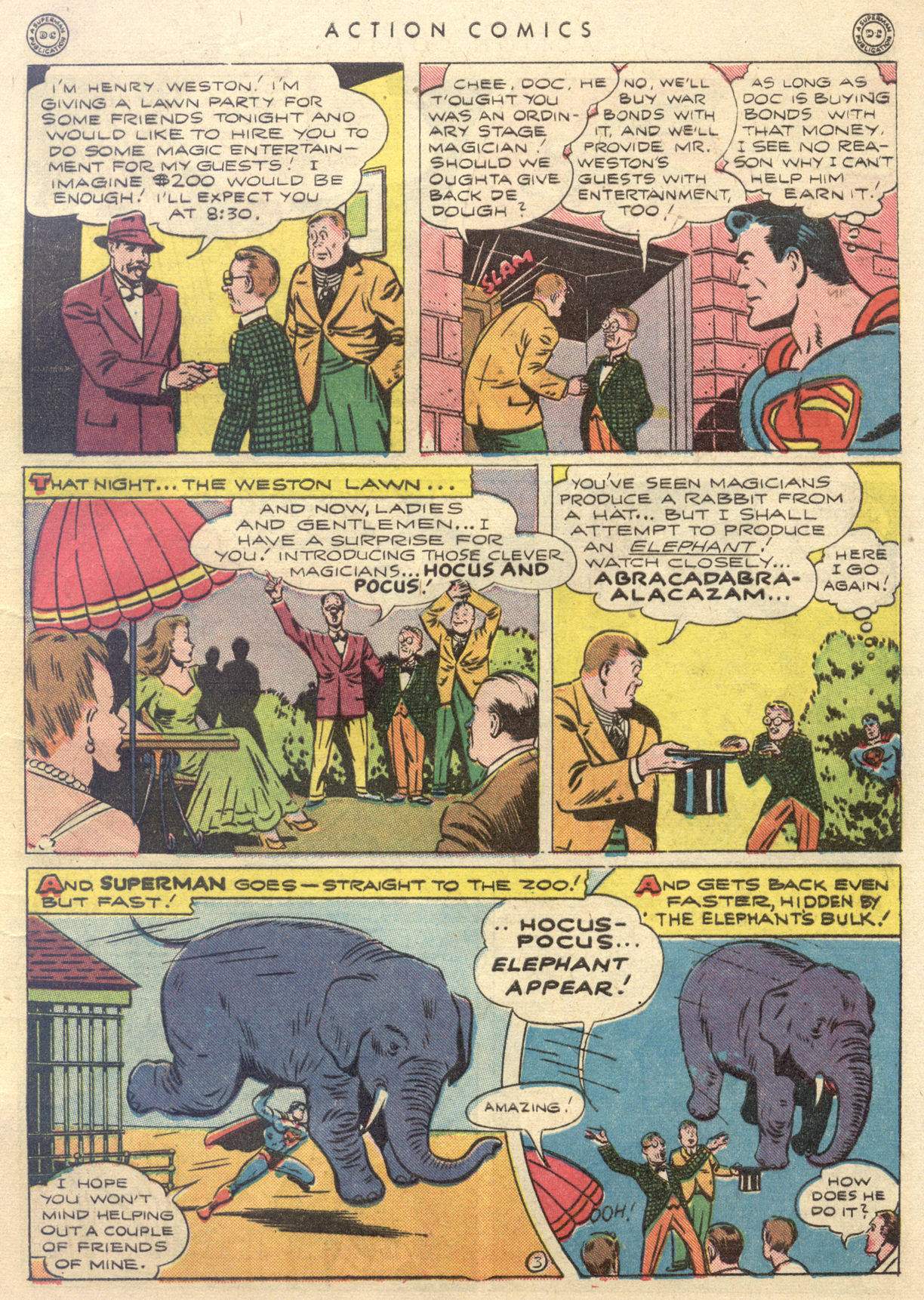 Read online Action Comics (1938) comic -  Issue #88 - 5