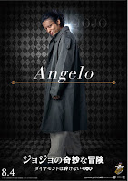 "Takayuki Yamada como Anjūrō ""Angelo"" Katagiri"