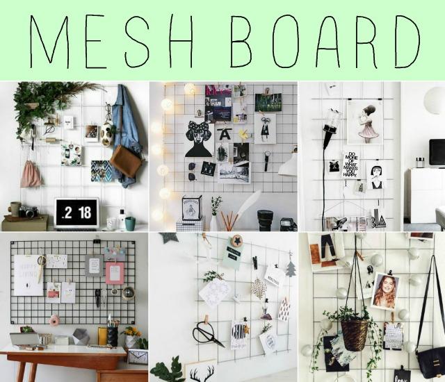 Mural Mesh Board