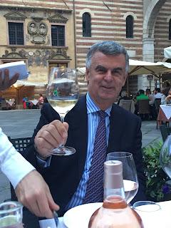 President of Pasqua Winery Umberto Pasqua