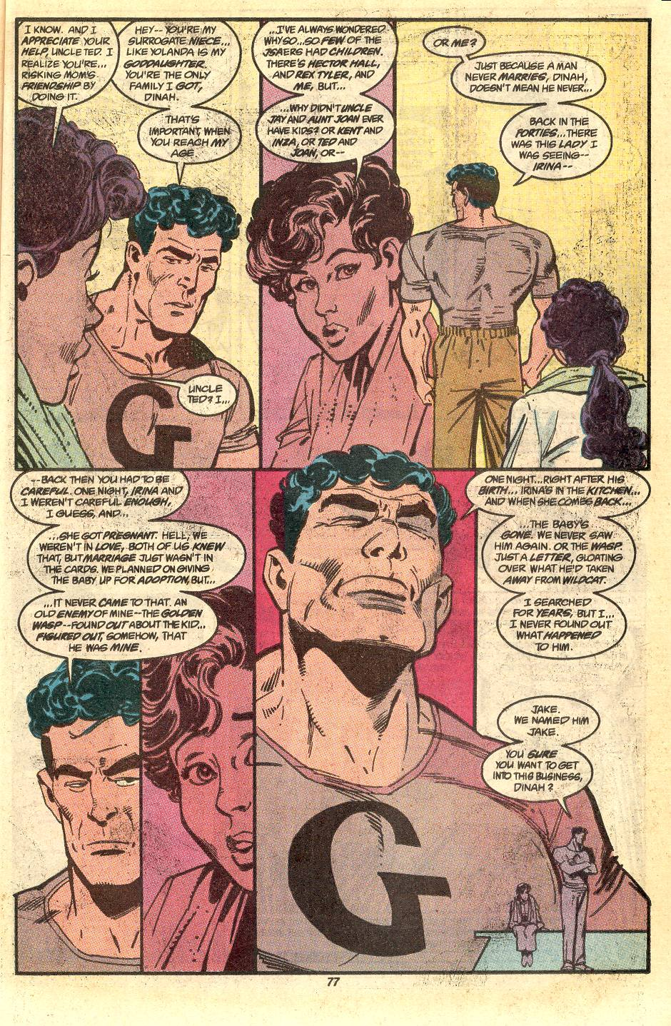 Read online Secret Origins (1986) comic -  Issue #50 - 80