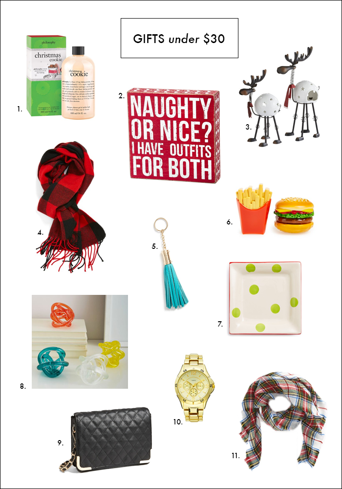 stocking stuffers, gifts under $30, nordstrom