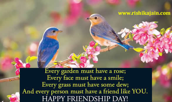 FRIENDSHIP DAY SPECIAL SMS