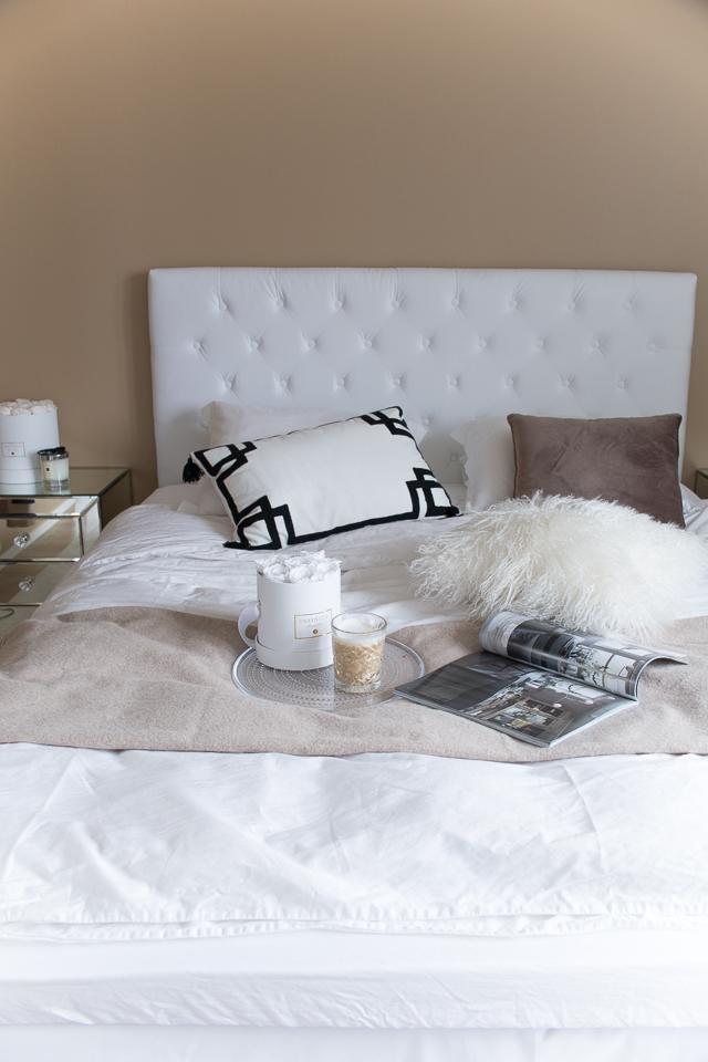 Villa H, makuuhuone, sisustus, klassinen koti, sisustusinspiraatio