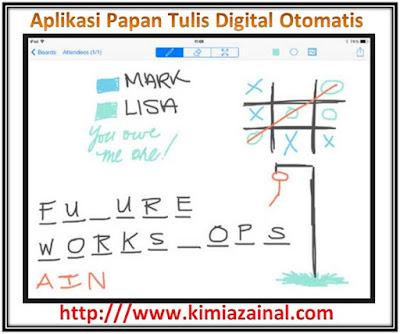 Aplikasi Papan Tulis Digital Otomatis Cocok Untuk Semua Mata Pelajaran