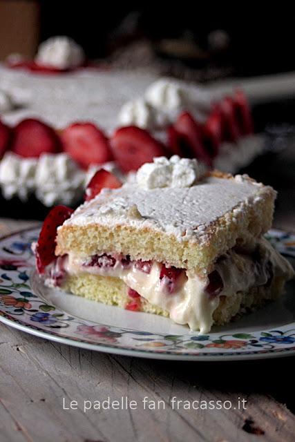 ricetta torta alle fragole