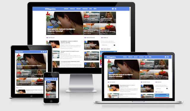 KFMAgazine Onedio Tarzı WordPress Haber Teması