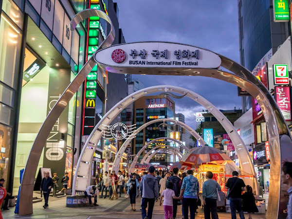 BIFF Square - Busan Heaven For Street Food