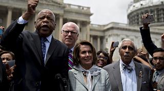 Gun Votes Demanded by Democrats as Republicans Probe Sit-In