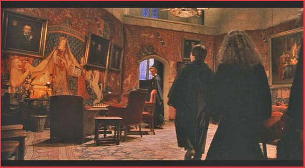 Tapisserie Dame à la Licorne Griffondor Harry Potter Lady and the Unicorn Tapestry Gryffondor