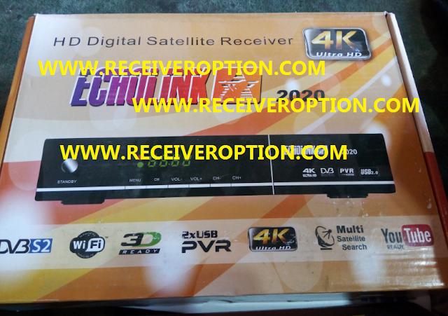 ECHOLINK 2020 HD RECEIVER AUTO ROLL POWERVU KEY NEW SOFTWARE BY USB