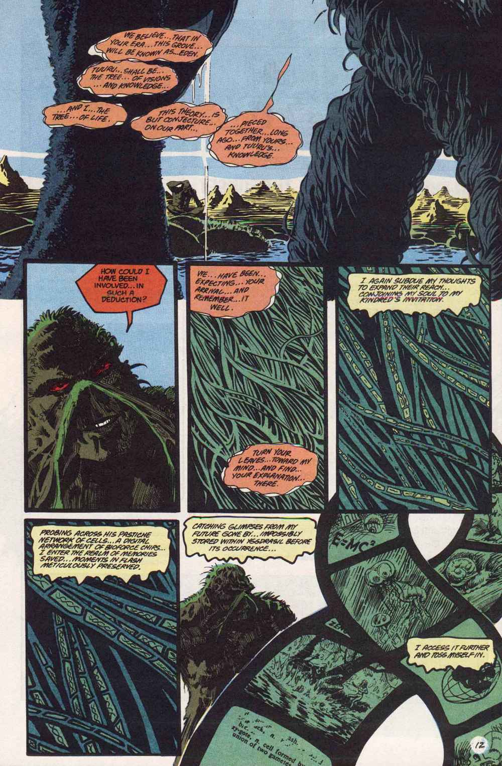 Swamp Thing (1982) Issue #89 #97 - English 13