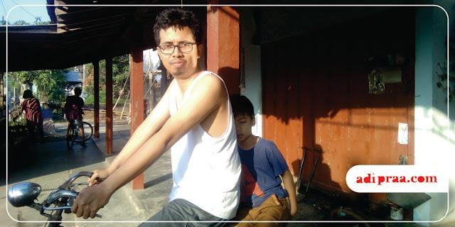 Siap ngonthel bersama anak lanang | adipraa.com