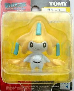 Jirachi Tomy Data Carrier Pokemon Figure