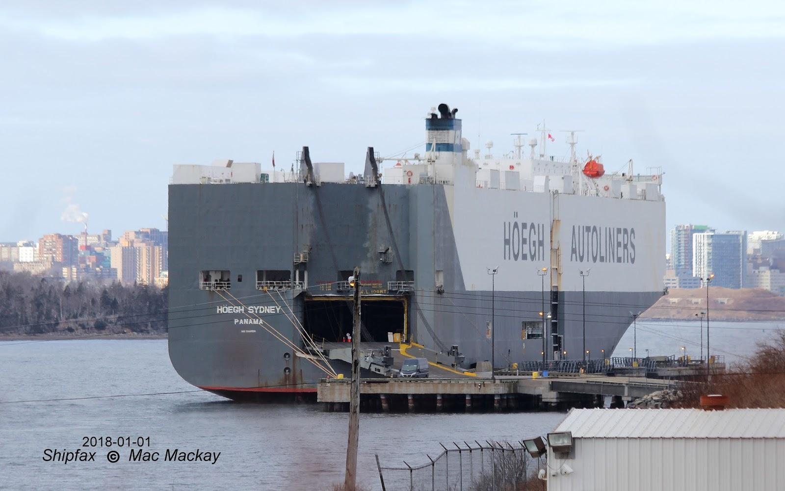 Shipfax: New Year's Tally
