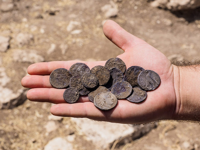 Rare cache of Hasmonean Period coins discovered in Israel's Modi'in