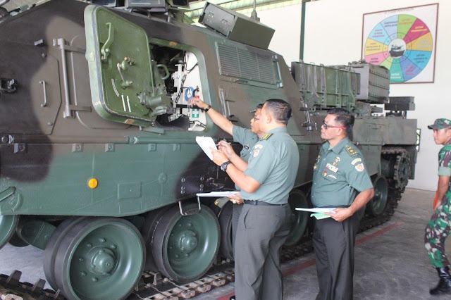 Batalyon Kavaleri 8 Kostrad Laksanakan Uji Fungsi ICCS Ranpur di Pasuruan